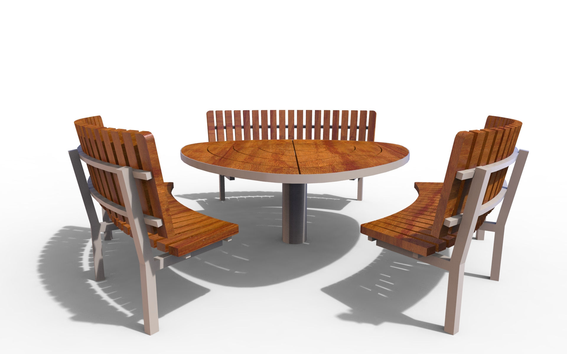 Изображение seating / table 21-04-07_02 (Komplet piknikowy)